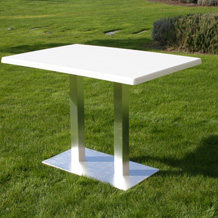 Capri Table - double central base